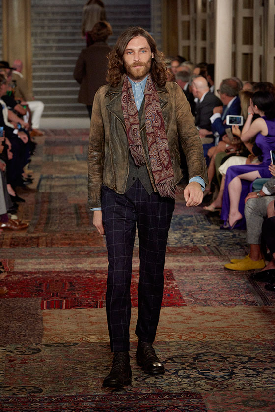 0b9c3555bc0c92 View All Looks from Ralph Lauren s Runway Show Fall 2018