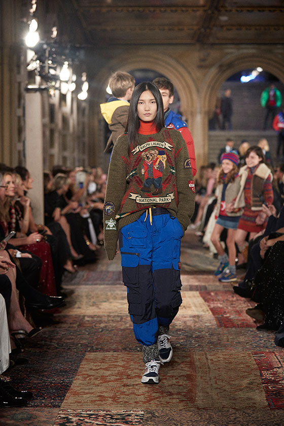 e73159bfb6dd7 View All Looks from Ralph Lauren s Runway Show Fall 2018