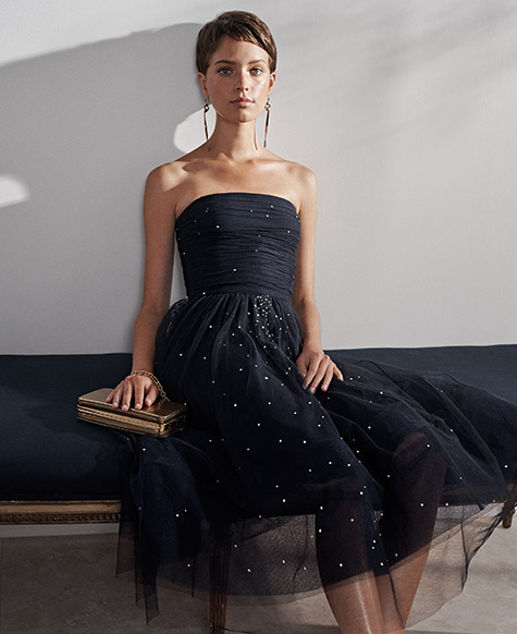 Carren Beaded Dress