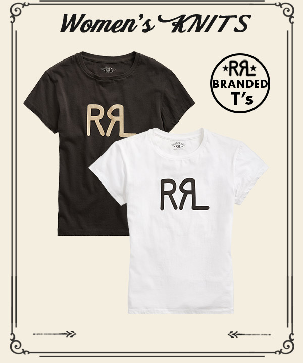 Black & white RRL T-shirts
