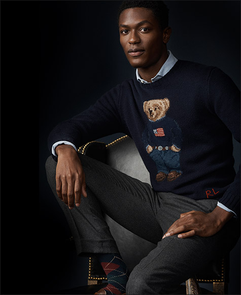 The Iconic Polo Bear Sweater