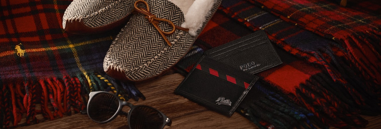 Slippers, plaid scarves & other festive small gifts