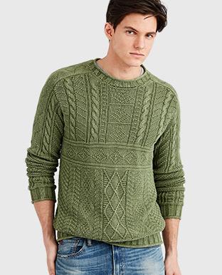 Cotton Fisherman's Sweater