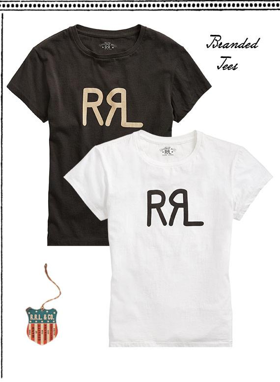 Double RL logo tees