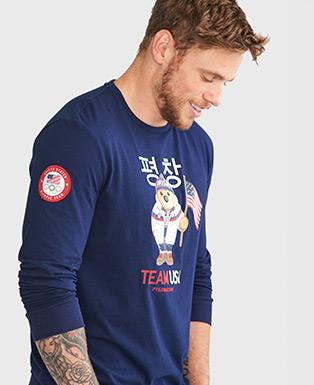 Team USA Polo Bear T-Shirt