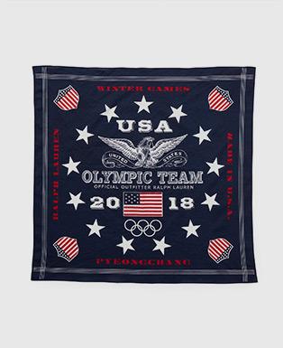 Team USA Cotton Bandanna