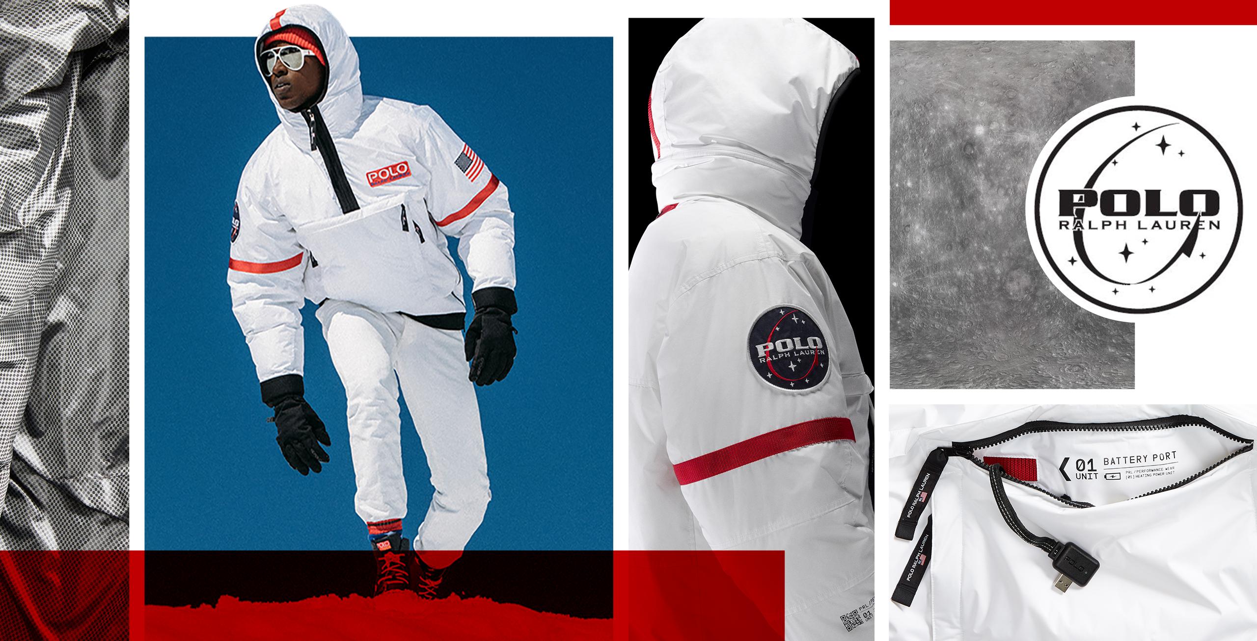 f2b42aae Details about New! Polo 11 Heated NASA ASTRONAUT puffer jacket Ralph Lauren  XL - NWT