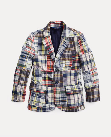 Madras sport coat.