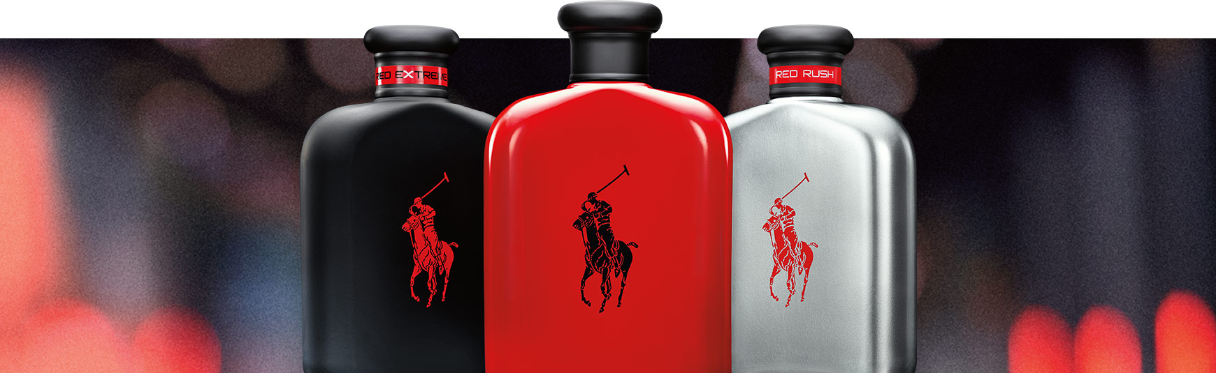838cc70b6d Bottles of Polo Red Extreme, Polo Red & Polo Red Rush fragrances