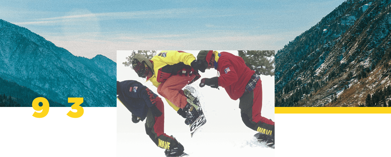 Snowboarders wearing Snow Beach outerwear 967cc55edcd5