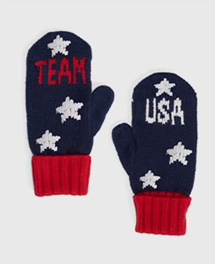 Team USA Merino Wool Mittens