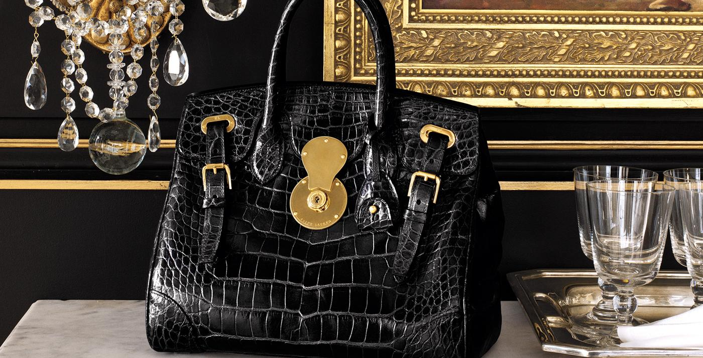 386c87acc58bb The Ricky Bag. The story behind. Ralph Lauren's signature accessory