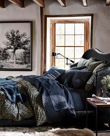 Home Decor, Home Furnishings, Bedding, & Bath | Ralph Lauren ... on luxury hotel bedroom, luxury royal bedroom, suzanne kasler bedroom, clive christian bedroom, britney spears home bedroom, lexington bedroom, metallic wall paint bedroom, kelly wearstler bedroom, rustic french bedroom, jonathan adler bedroom, fendi bedroom, horchow bedroom, hello kitty home bedroom, hickory chair bedroom, roche bobois bedroom, alexa hampton bedroom, gucci bedroom, nautica bedroom,