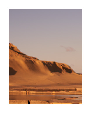 Picture of red desert landscape
