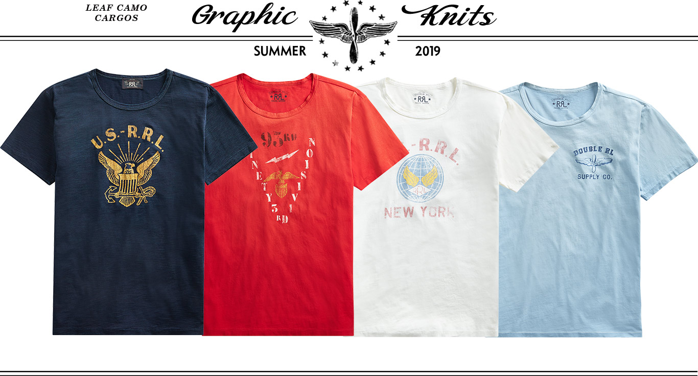 b489e610377d4f Graphic tees in navy