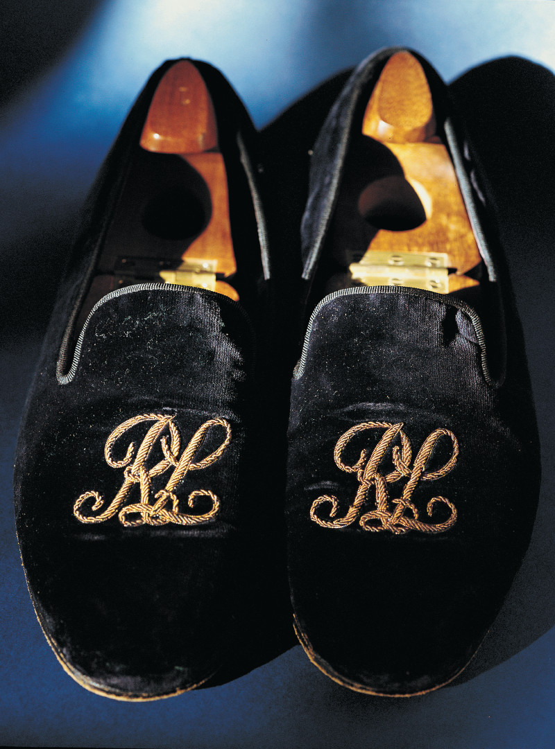 It's hard to go wrong with a pair of irreverant velvet slippers