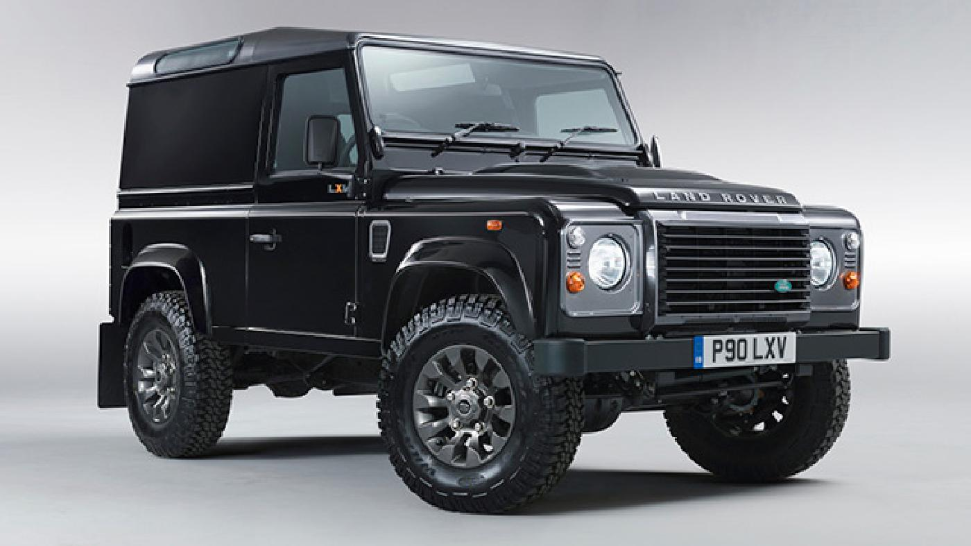 Sleek and shiny, the current Defender is as well suited for city driving as it is for frontier roaming
