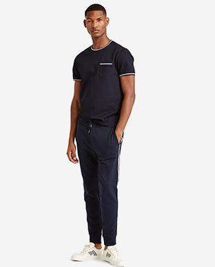 Custom Fit Piqué T-Shirt