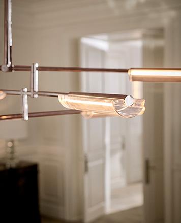Structural chandelier