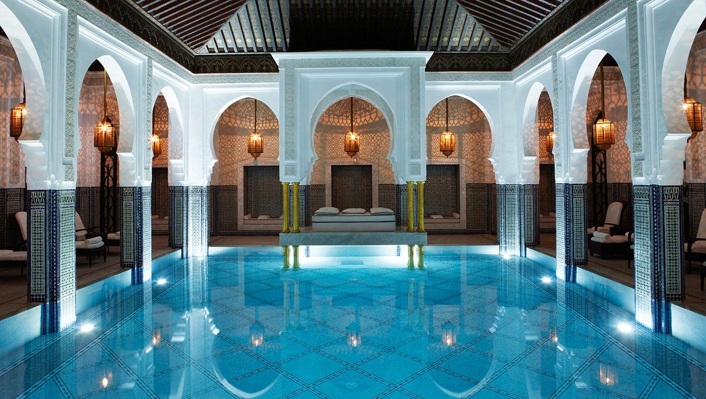 Treat yourself to the ultimate hammam spa experience at the famed La Mamounia hotel