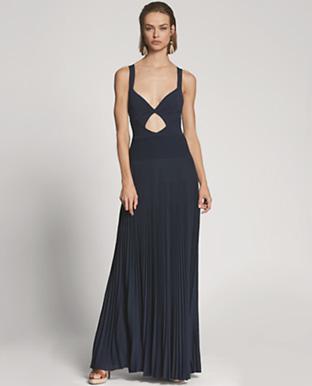 Camisole Cutout Evening Dress