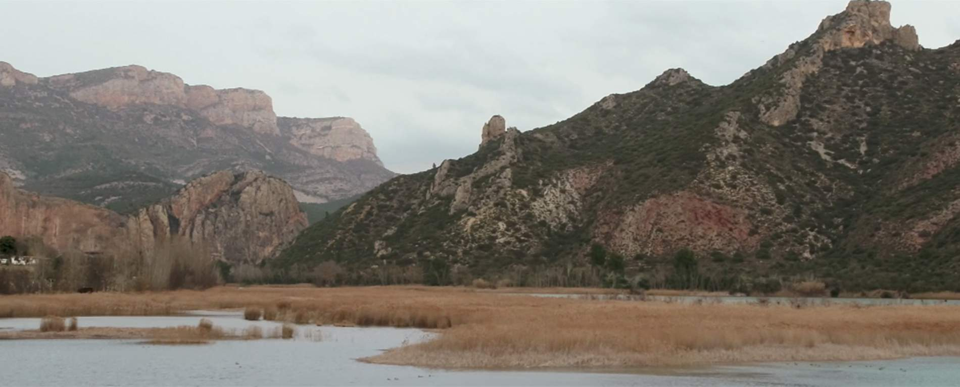 Photograph of rocky mountains