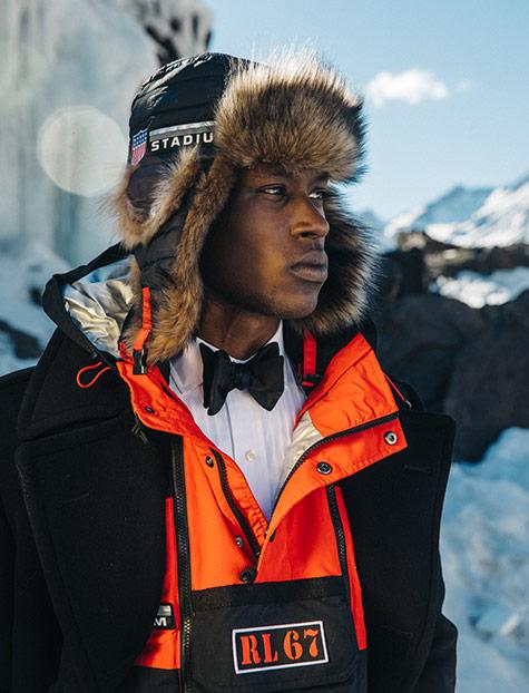 Winter Stadium Earflap Hat