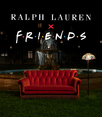 Ralph Lauren x FRIENDS lock up