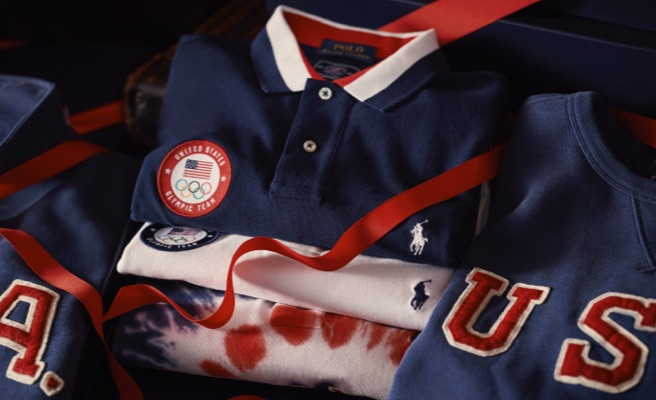 Red, white & blue apparel from the Team USA One-Year-Out collection