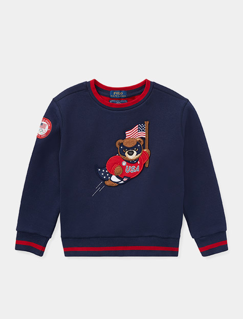 Team USA Polo Bear Sweatshirt