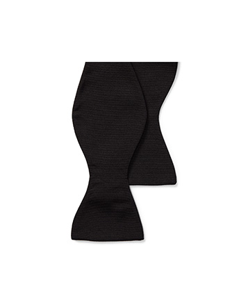 Silk Grosgrain Bow Tie
