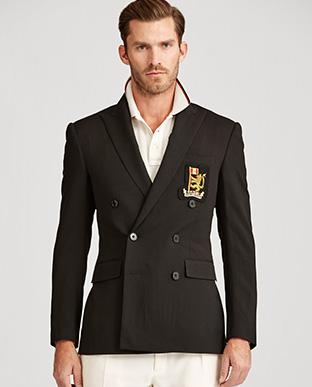 Wool Serge Suit Jacket