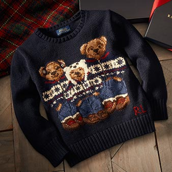 Polo Bear family sweater