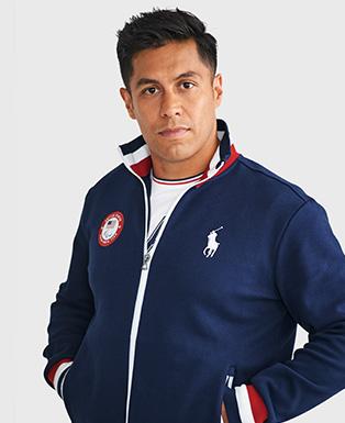 Team USA Fleece Track Jacket