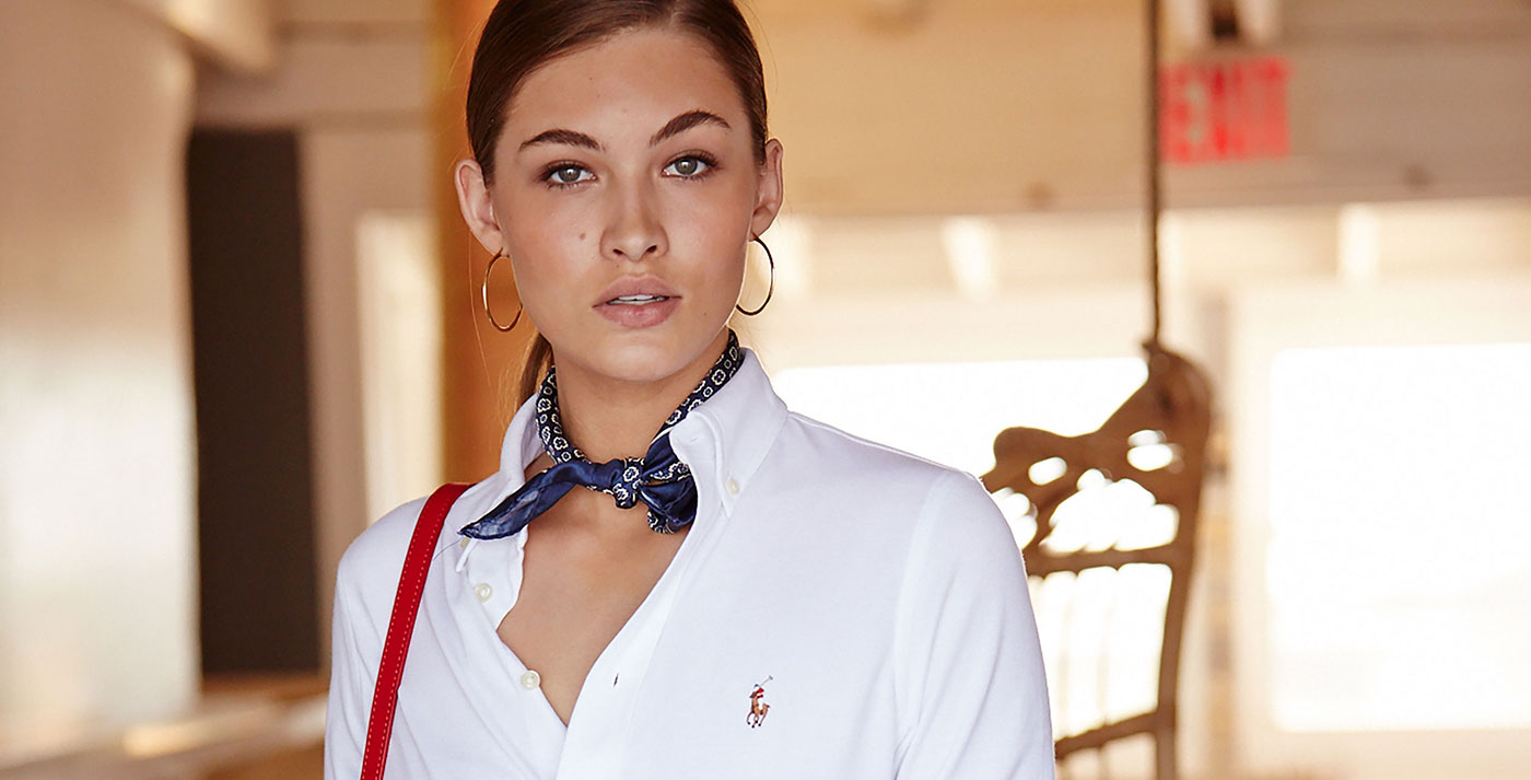 fda5615a333 The Story of Her Shirt. Four years after redefining men s style with the  launch of Polo