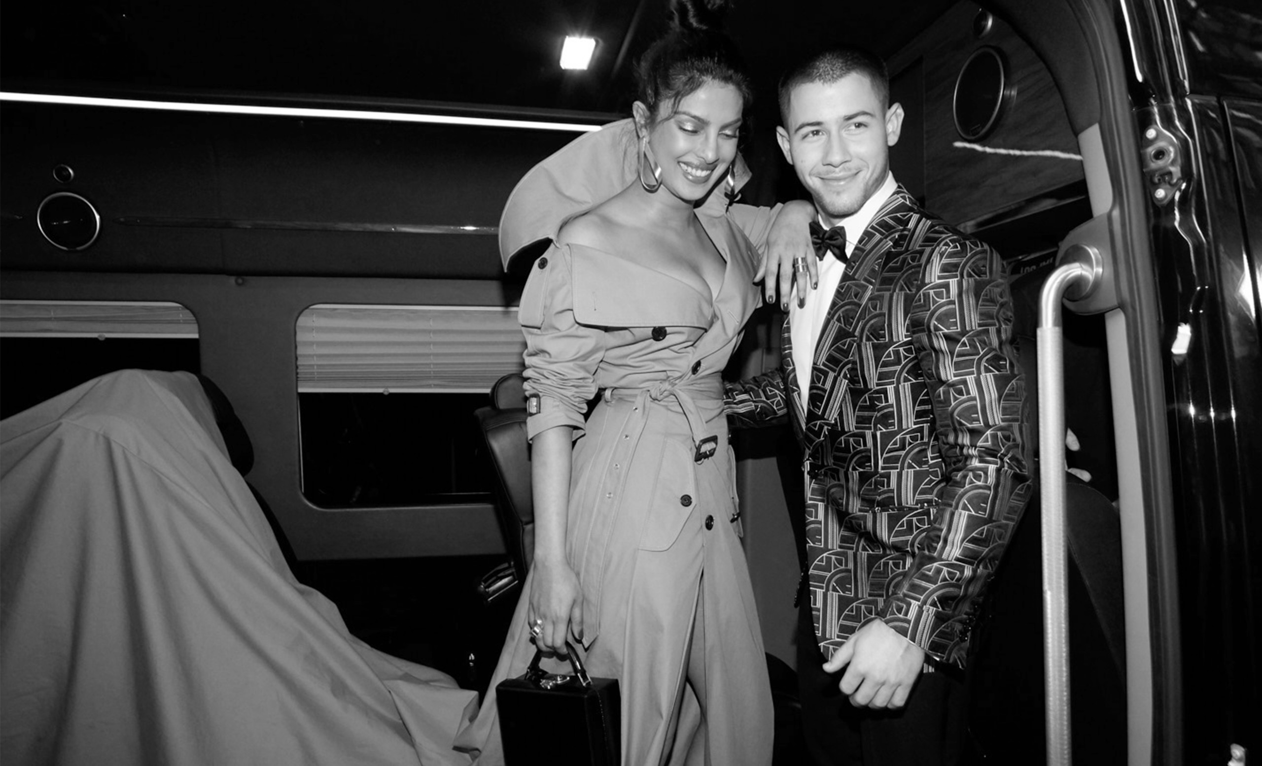 Priyanka and Nick shared the spotlight for the first time as guests of Ralph Lauren at the Met Gala in May 2017—just a week after their first date and a few months of flirtatious texting