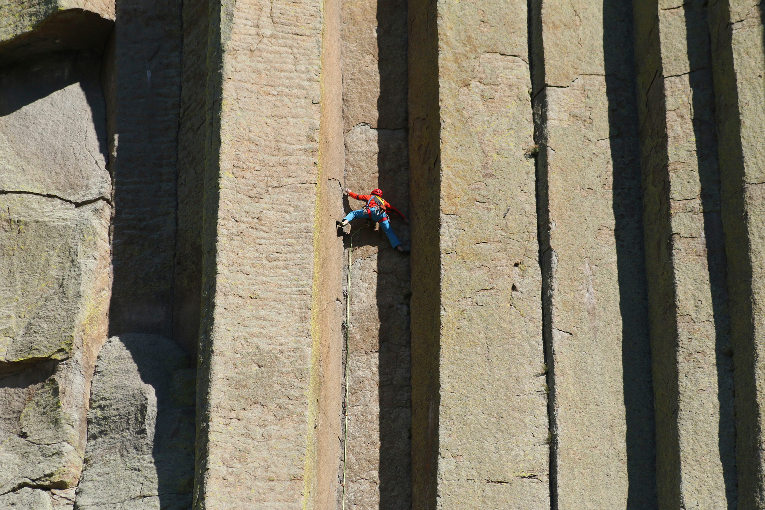 Scaling Devil's Tower: Just another day at the office for Conrad Anker