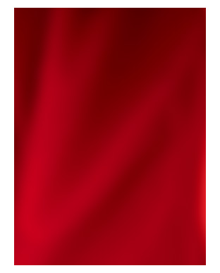 Close-up image of red fabric