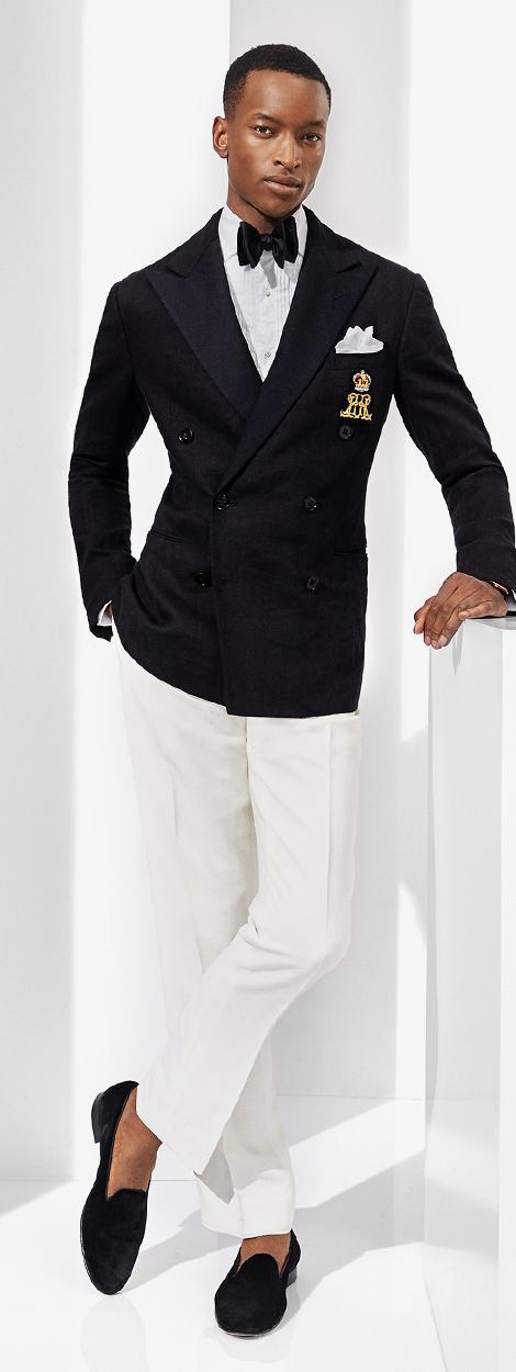 Gregory Linen Tuxedo Jacket