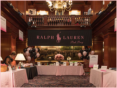 Photograph of Pink Pony benefit event