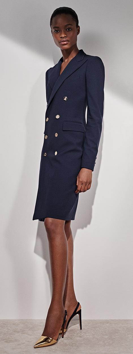 Wellesly Wool-Blend Dress