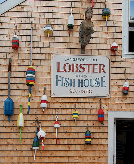 No matter where or how you have it, lobster is a must when in Maine