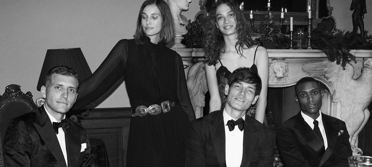 Women & men in formal partywear