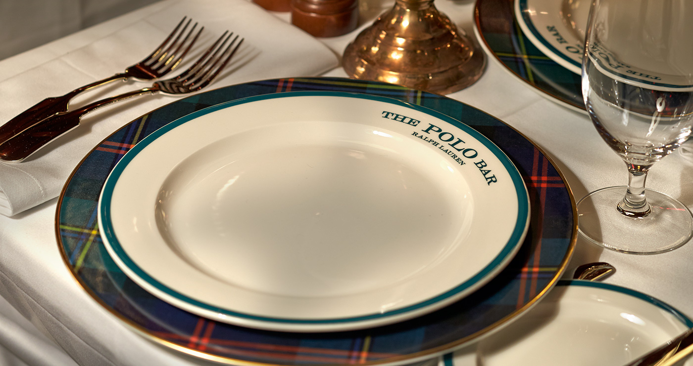 <span>The carefully chosen tableware draws on the influences of classic restaurants and, of course, polo itself</span>
