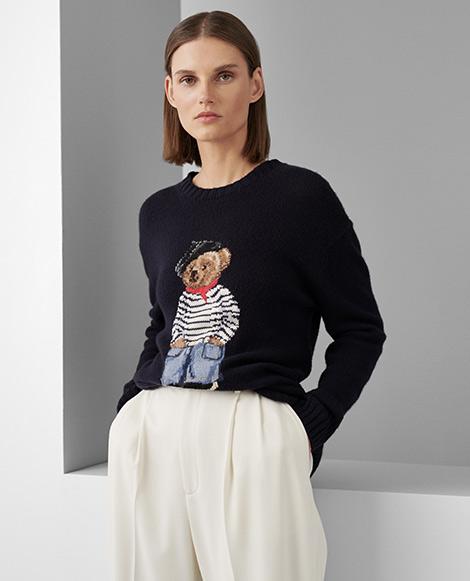 Marseille Polo Bear Sweater