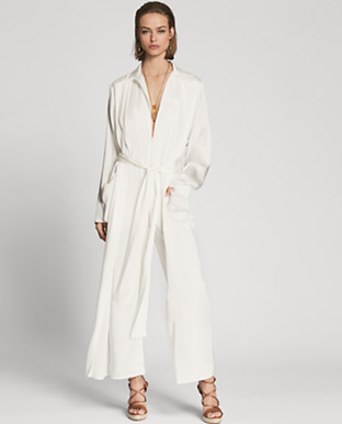 O'Reilly Charmeuse Jumpsuit