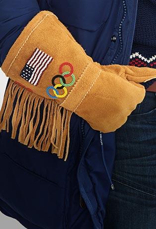Team USA Ceremony Suede Gloves
