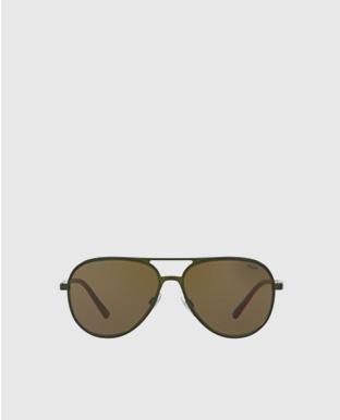 Polo Color-Blocked Sunglasses