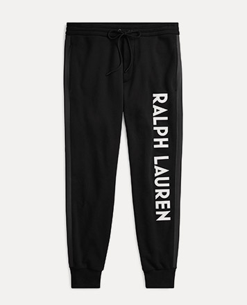 Double-Knit Graphic Pant