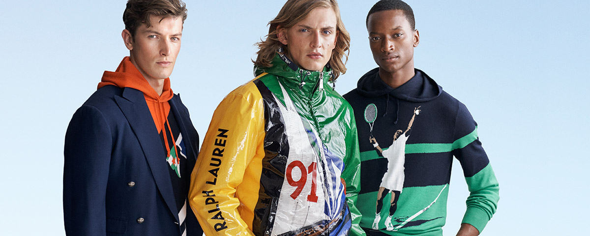Men in sailing & sport-inspired sweatshirts & outerwear